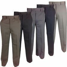 Mens Self Expanding Waist Trousers Comfort Fit W 32-56 with Expand a Band Sides