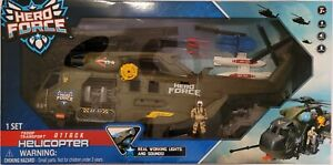 Hero Elite Force CH53 Stallion Helicopter NEW in box great Christmas gift $100