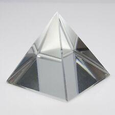 Vastu Healing Clear Crystal Pyramid Healing Feng Shui Energy Crystal Product
