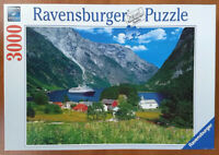 Ravensburger FASCINATING NORWAY Jigsaw Puzzle - Incomplete Missing 2 Pieces