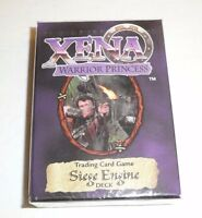 Xena Warrior Princess Siege Engine Starter Deck TCG Trading Card Game 1998 NEW