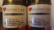 2 X Jars Arginine Cardio Most Advanced 12 X More Effective Than Proargi 9 Plus