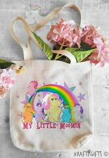 Rainbow My Little Pony Moomin Shopping Grocery Reusable Tote Hand Bag TB20