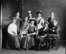 "1905 Washington School For Boys & Drag Queens, Vintage Old Photo 4"" x 6"" Reprint"