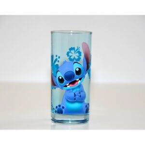 Disney Stitch Character Drinking Glass, Disneyland Paris Original         N:2504