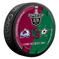 2020 Round 2 Colorado Avalanche vs Dallas Stars Stanley Cup Playoffs Puck