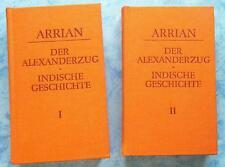 Arrian Der Alexanderzug Indische Geschichte 1+2 Akademie Verlag Berlin 1985  rar