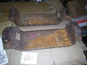 1972 1973 DODGE DART REAR BUMPER BRACKETS OEM BRACKET SWINGER 340 833 440 MOUNT