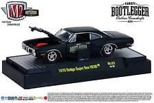 1:64 M2 Machines BOOTLEGGER BL02 = Black 1970 Dodge Super Bee HEMI *NIB*