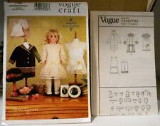 "18""  Vogue Doll Collection-Heirloom Clothes-Craft Sewing #730-Teresa Layman"