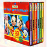 Disney Mickey Mouse Clubhouse Little Library Books, Colours, Animals, Shapes
