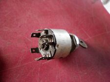 LUCAS 4 STAGE IGNITION SWITCH & KEY  VGC CLASSIC / VINTAGE CAR KITCAR SPECIAL