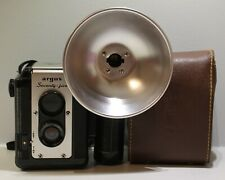 Vintage Argus Seventy Five camera + Flash 620 films with original leather case