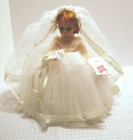 "Madame Alexander 14"" Bride beautiful condition with box"