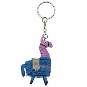 FORTNITE FIGURAL KEYCHAIN (( LLAMA )) IN FOIL BAG - VERY RARE, COLLECTABLE