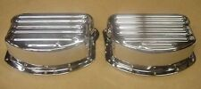 Ribbed Rocker Arm Covers fit Harley Panhead