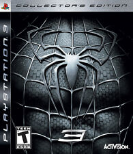 Spider-Man 3: Collector's Edition (Sony PlayStation 3, 2007) PS3 Complete