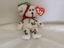 Ty Beanie Baby Jingle 1998 Holiday Teddy