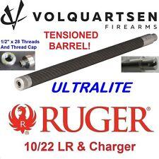 """VOLQUARTSEN Stainless/Carbon Fiber .920"""" ULTRALITE Bull Barrel Ruger 10-22 LR"""