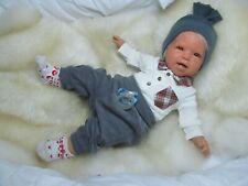 ninisingen Reborn Reallife  Jorge Babypuppe Rebornbaby Puppe Baby Rebornpuppe
