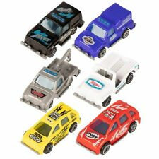 12-Pack Push Vehicle, Mini Race Car Toys, Perfect for Boys, 6 Assorted Designs