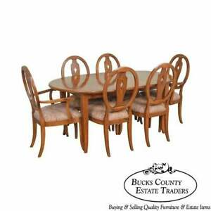 Ethan Allen Country Colors Dining Room Set