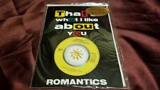 "THE ROMANTICS What I Like About 1989 EURO 3"" CD single w?envelope sleeve! NEW!!"