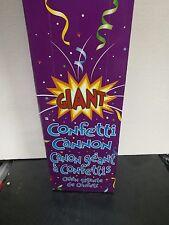 """Giant Confetti Cannon Party Supplies (23"""") Multicolor box of 6"""