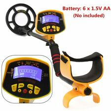Us Md-3010Ii Metal Detector Underground Sensitive Treasure Gold Hunter Digger