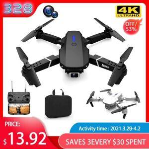 RC Drone 4k HD Wide Angle Camera 1080P WiFi fpv Drone Dual Camera Quadcopter