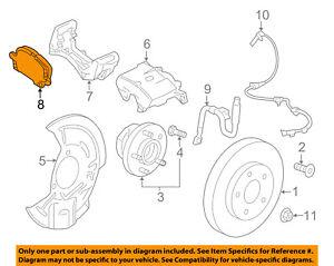 GM OEM Brake-Front-Brake Pads 84121520