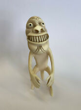 Early Inuit Figure Tupilak, fish bone, MUSEUM QUALITY!!