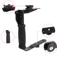 Quick Flip Rotating Flash Bracket Holder For Speedlight Flashes & Shoot Camera