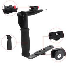 Quick Flip Metal Flash Bracket Grip Arm Holder Stand For Canon Nikon DSLR Camera