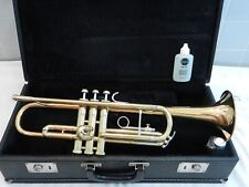 Bach Mercedes II USA Trumpet - Rose Brass Bell - Smooth Valves - Plays Great