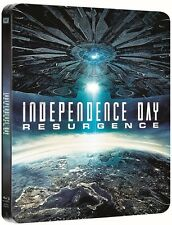 Independence Day:Resurgence Limited Steelbook 3D + 2D Blu Ray  (Region Free)