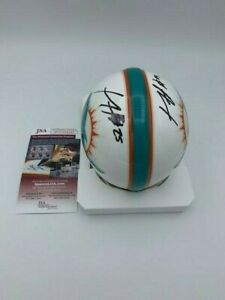 Xavien Howard Signed Miami Dolphins Riddell Mini Helmet JSA and Photo BLEM !!!!!