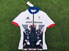 BNWT ~ Small Adidas Team Great Britain GB Rio Olympics Cycling Jersey Top Women