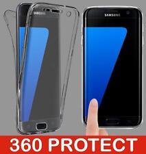 Cover custodia  silicone 360° protezione totale per Samsung Galaxy S6 edge plus