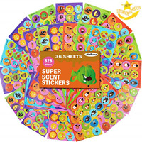 Mello Smello Classics Scratch and Sniff Stickers Album Strong Scent Vintage Like