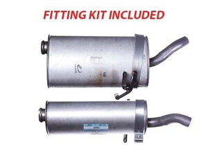 Box with Tail Pipe Rear Back Silencer For Citroen Berlingo GPG691 + FIT KIT