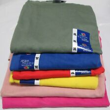 Women Men's T-Shirts 2XL Fruit of The Loom 8 Pc 6 colors 100 % Cotton Royal