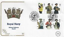 GB 2009 ROYAL NAVY UNIFORMS COTSWOLD OFFICIAL FDC