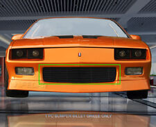 Fits 1988-1992 Chevrolet Camaro Replacemnt Black Bumper Billet Grille Insert