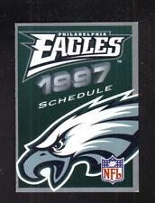 Philadelphia Eagles--1997 Pocket Schedule--Modell's
