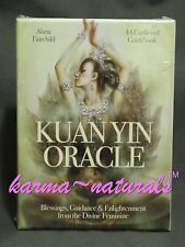 KUAN YIN Oracle Card Deck - by Alana Fairchild - NEW Divination Goddess Energy