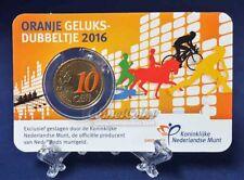 Nederland Coincard geluksdubbeltje 2016