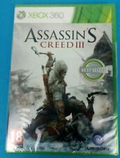 ASSASSIN'S CREED III 3 XBOX 360 BRAND NEW AND SEALED