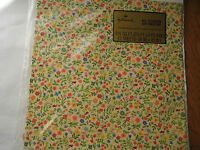 vintage 1970s Hallmark sealed GIFT WRAP flower power ladybug garden birthday NOS