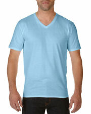Camisetas de hombre azul de punto color principal azul